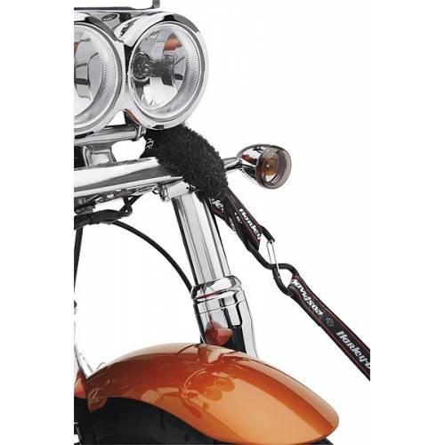 2 Crochets souples molletonnés 45 cm Harley-Davidson 93100017