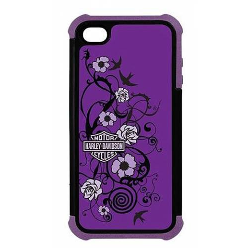 Coque iPhone 5 Purple tattoo Harley-Davidson