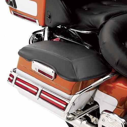 Protection de rabat de sacoche rigide, vinyle noir, Harley-Davidson 57805-03A