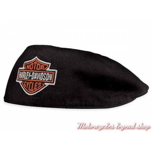 Casquette Ivy textile Bar & Shield homme, noir, coton, Harley-Davidson 99581-08VM