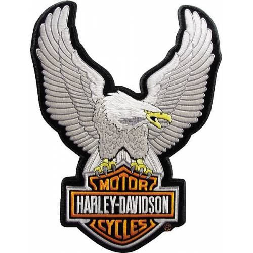 Patch Eagle Bar & Shield, brodé, petit modèle, Harley-Davidson EMB328062