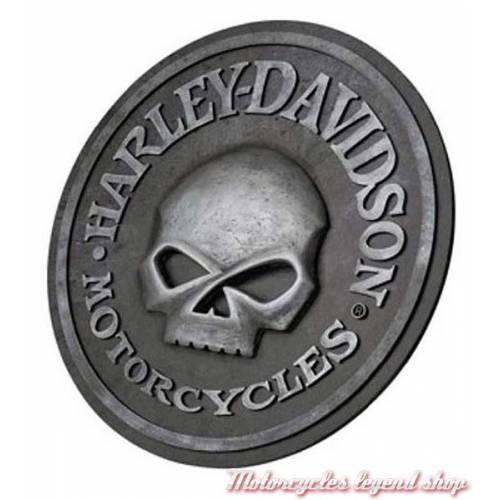 Panneau Sculpté Skull Harley-Davidson