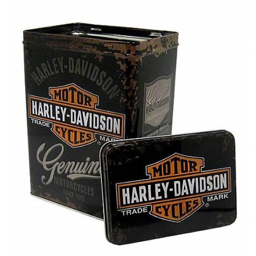 Boite métal Harley-Davidson Genuine