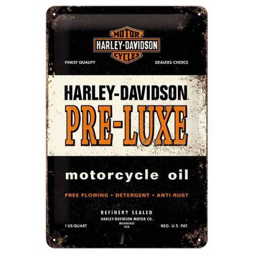 Plaque metal Pre-Luxe Harley-Davidson