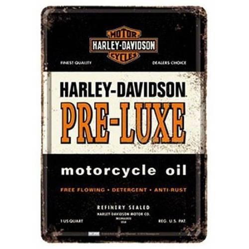 Carte postale métal H-D Pre-Luxe Harley-Davidson
