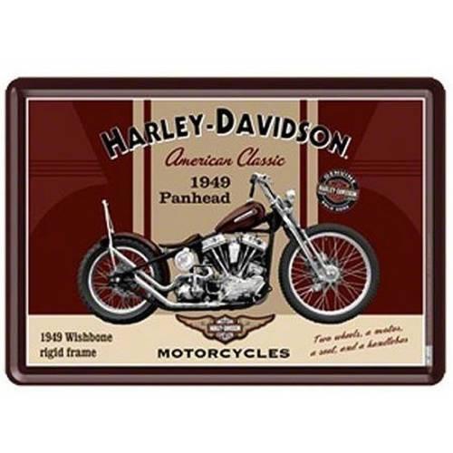 Carte postale métal H-D American Classic Harley-Davidson