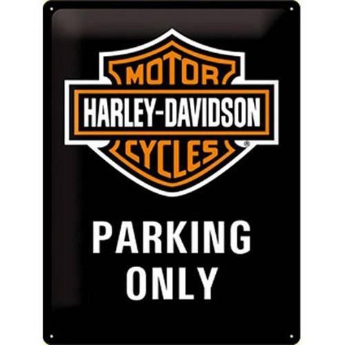 Plaque métal H-D Park Harley-Davidson