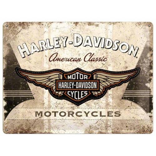Plaque métal American Classic Harley-Davidson