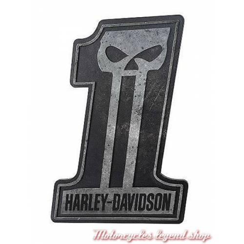 Plaque Sculptée Skull N°1 Harley-Davidson