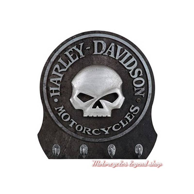 porte cl s mural skull harley davidson motorcycles legend shop. Black Bedroom Furniture Sets. Home Design Ideas