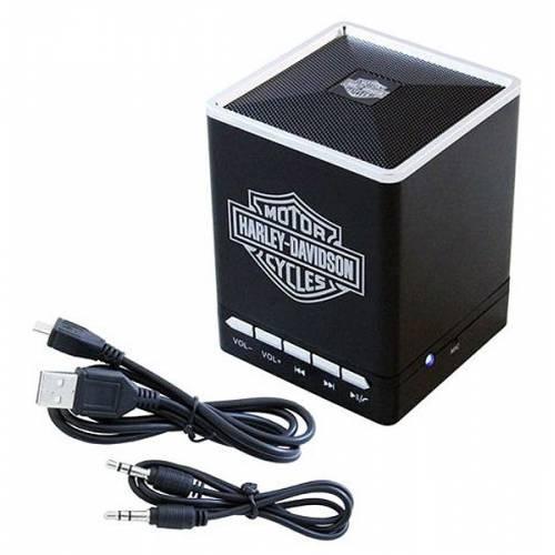 Enceinte Bluetooth Bar & Shield portable, sans fil, Harley-Davidson 6861