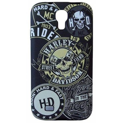 Coque Galaxy S4 imprimé skull, Harley-Davidson 7617