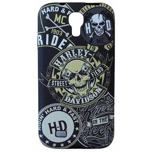 Coque Galaxy S4 imprimé skull Harley-Davidson