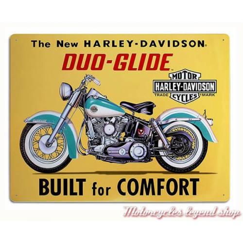 Plaque métal Built for Comfort Harley-Davidson