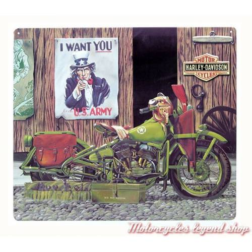 Plaque métal Freedom Riders Harley-Davidson