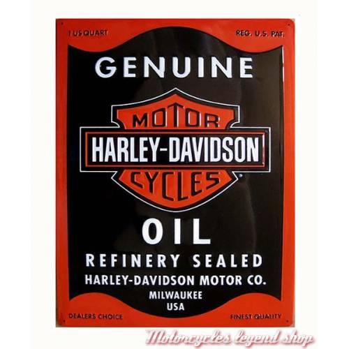 Plaque métal Oil Can Harley-Davidson