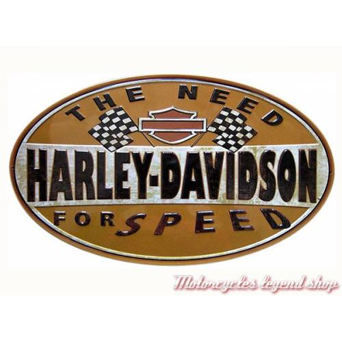 Plaque métal Need for Speed Harley-Davidson