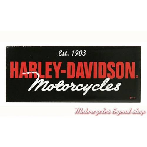 Plaque métal Motorcycles Harley-Davidson