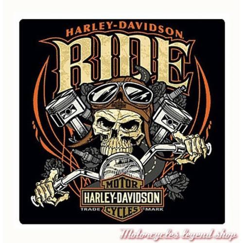 Plaque métal Ride Bone Harley-Davidson