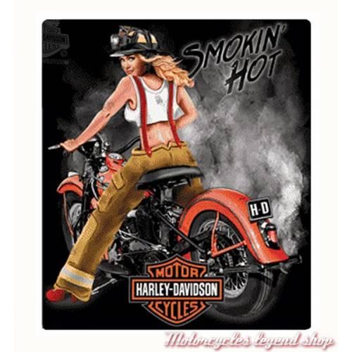 Plaque métal Smokin' Hot Harley-Davidson