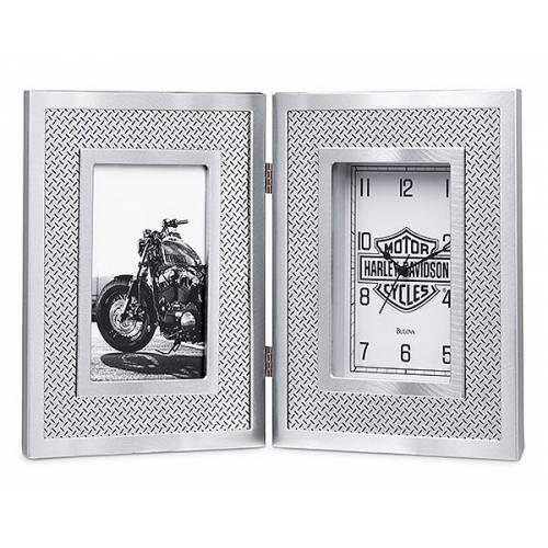 Horloge & cadre photo Bar & Shield Harley-Davidson