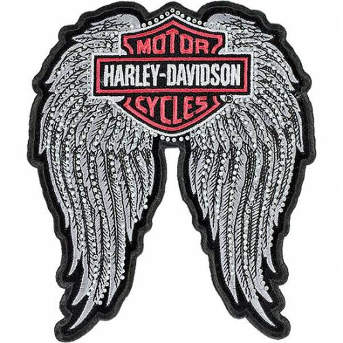 Patch Winged Bar & Shield Harley-Davidson