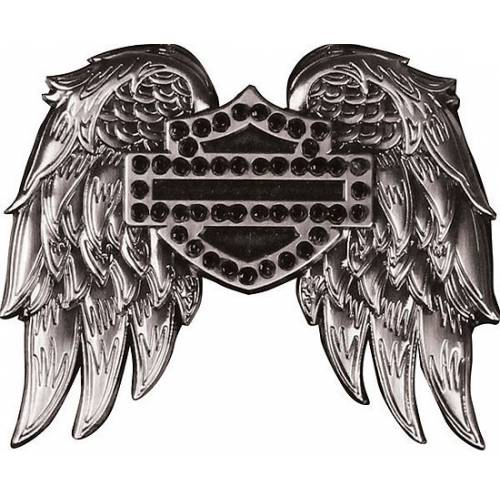 Pin's Winged Bar & Shield