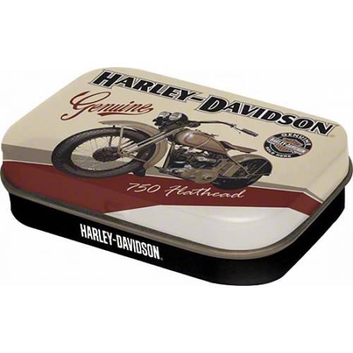 Boite de pastilles mentholées Flathead Harley-Davidson