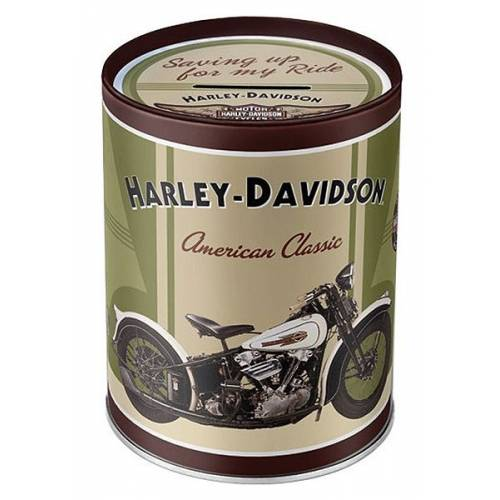 Tirelire métal American Classic Harley-Davidson