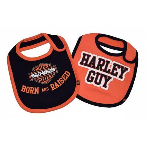 Bavoirs bébé Harley-Davidson garçon