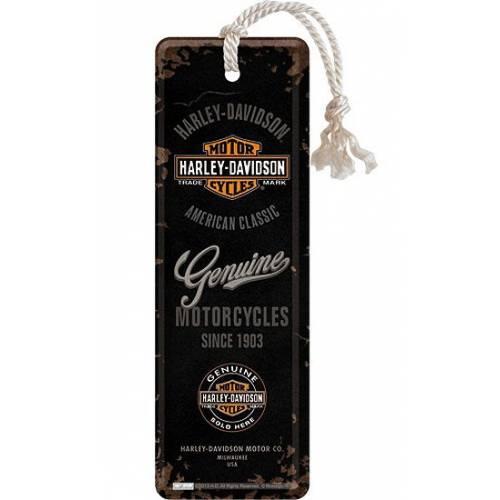 Marque page Harley-Davidson Genuine, métal, , Bar & Shield, Harley-Davidson 45040