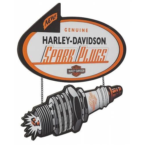Plaque Spark Plugs Harley-Davidson