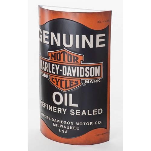Enseigne Oil Can Harley-Davidson