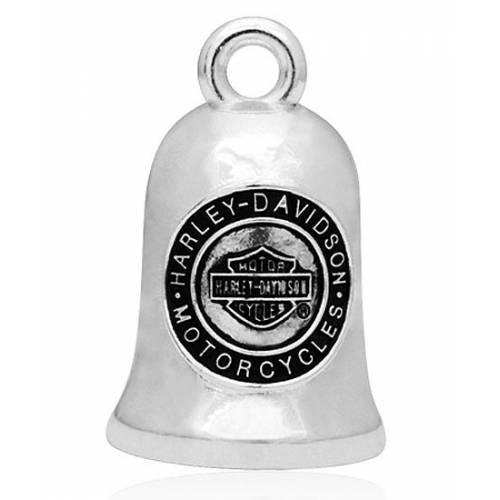 Clochette H-D Coin, metal mat, Harley-Davidson HRB048