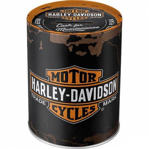 Tirelire métal Genuine Harley-Davidson