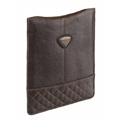 Coque Tablette numerique, cuir marron,Triumph MLUS15201