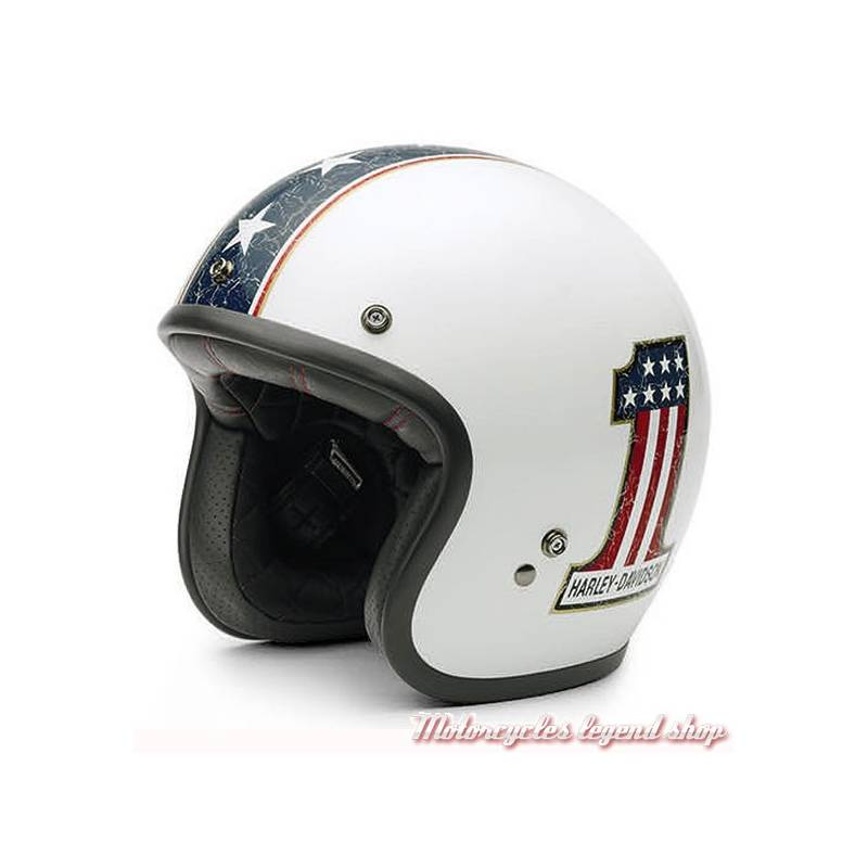 casque jet americana retro harley davidson motorcycles legend shop. Black Bedroom Furniture Sets. Home Design Ideas