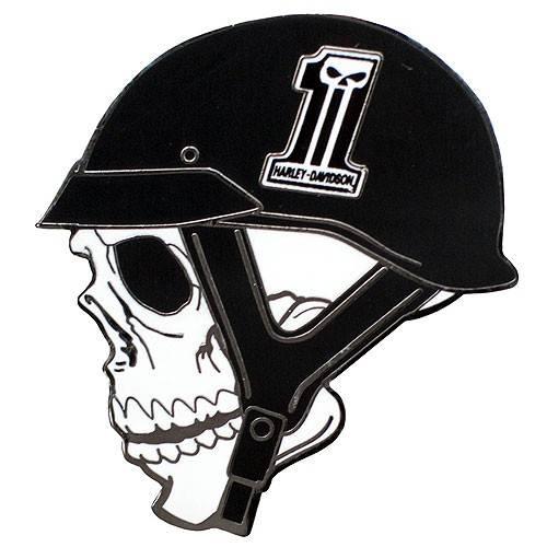 Pin's Helmet Skull Harley-Davidson