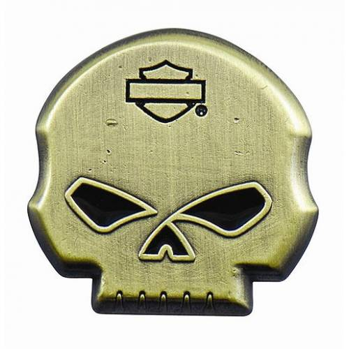 Pin's Skull Willie G. Harley-Davidson