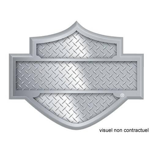 Pin's Bar & Shield, relief, métal nickel, galva, Harley-Davidson 210019