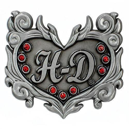 Pin's H-D Heart Harley-Davidson