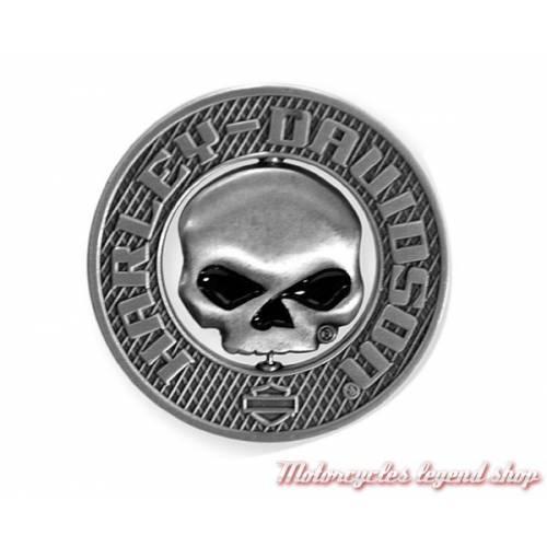 Pin's Skull 3D Harley-Davidson