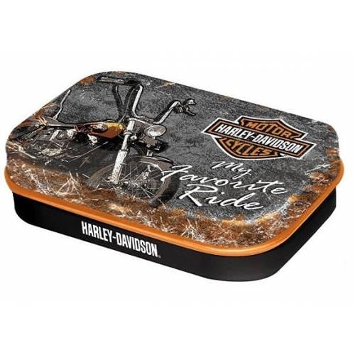 Boite de pastilles mentholées Favorite Ride, Harley-Davidson 81281