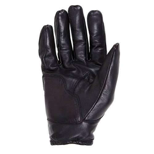 Gant cuir Charly noir homme, été, vintage, Helston's