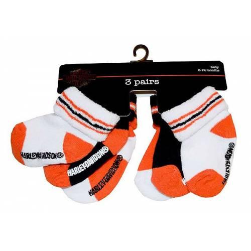 Chaussettes bébé garçon Harley-Davidson