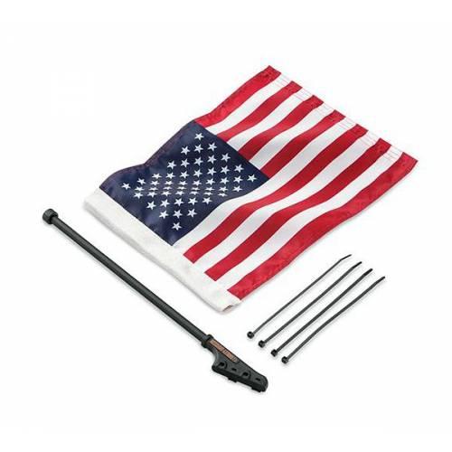 Kit Drapeau Américain pour sissy bar, nylon, Harley-Davidson 94616-98