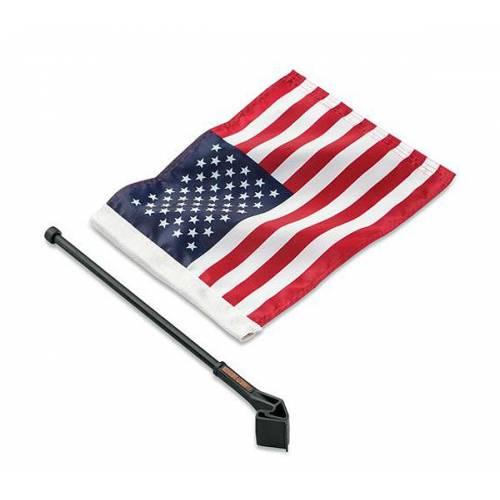 Kit Drapeau Américain pour Tour-Pak, nylon, Harley-Davidson 61400206