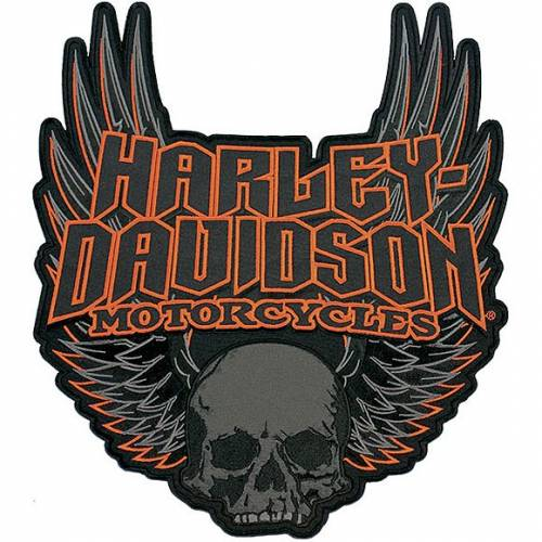 Patch Gothic Wings, brodé, grand modèle, Harley-Davidson EM108307