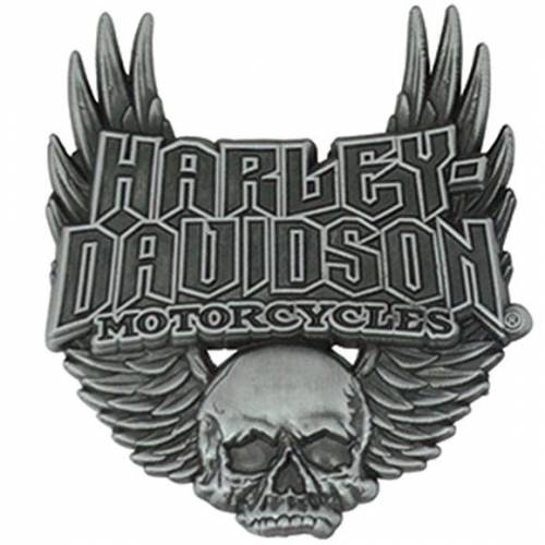 Pin's Gothic Wings Harley-Davidson