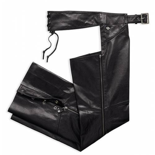 Chaps cuir Essential femme, noir, Harley-Davidson 98096-16VW